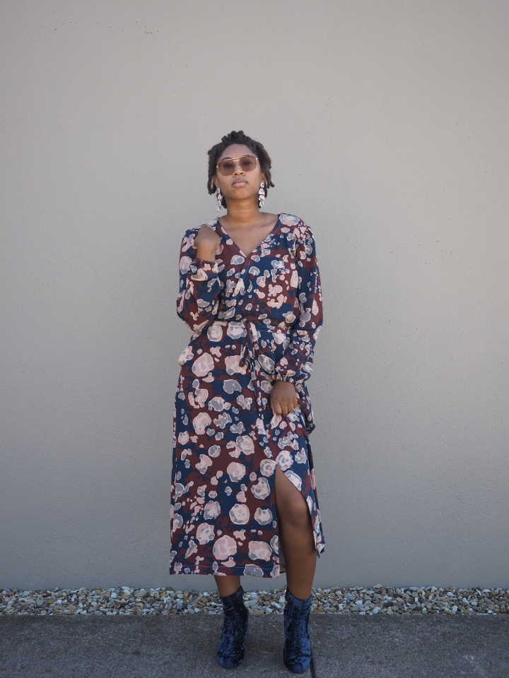 """Styling Two Piece Outfits / Faux Orchid Midi """"Dress"""""""